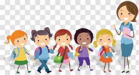 Teacher Physical Education School Classroom Human Behavior Kids Cartoon Transparent PNG