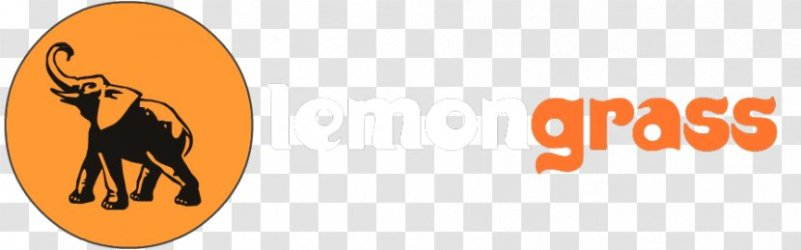 Logo Take out Restaurant Lemongrass Food Dog Like Mammal Silhouette Transparent PNG