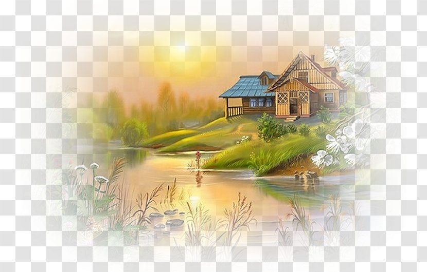 World Famous Paintings Drawing Landscape Painting Art Nature Photography Transparent Png