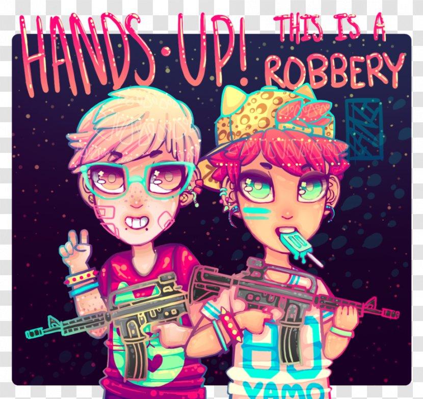 Poster Album Cover Pink M Bank Robber Transparent Png