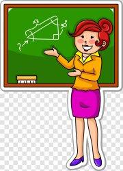 Student Teacher Cartoon School Teachers Transparent PNG