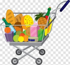 Grocery Store Shopping Bags & Trolleys Royalty free Vehicle Cart Transparent PNG