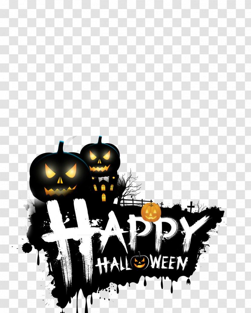 Halloween Logo Png : halloween, Halloween, Happy, Stock, Photography, Transparent