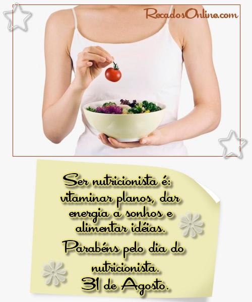 Recado Para Orkut - Dia do Nutricionista: 4