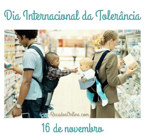 Dia Internacional da Tolerância Imagem