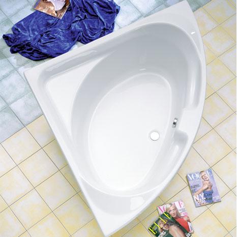 Ottofond Laguna Eck Badewanne ohne Wannentrger  950001  Reuter Onlineshop