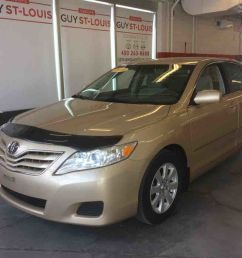 occasion cowansville pre owned 2010 toyota camry base for sale in cowanville [ 1136 x 852 Pixel ]
