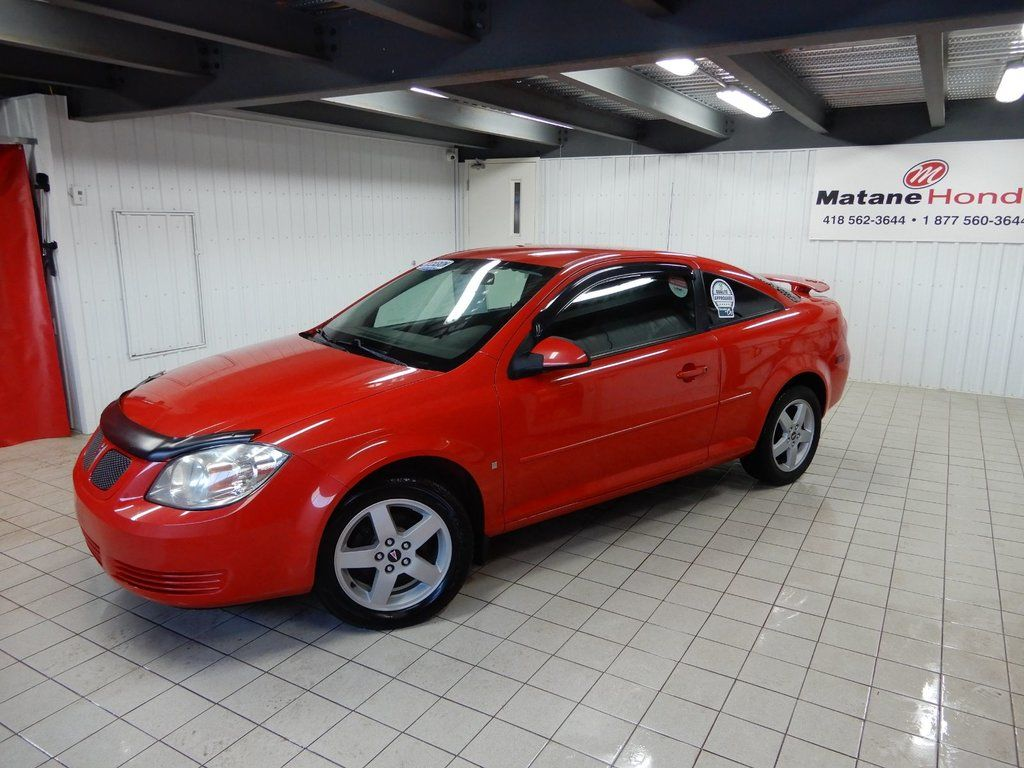 hight resolution of used 2009 pontiac g5 se in matane used inventory matane honda in matane quebec