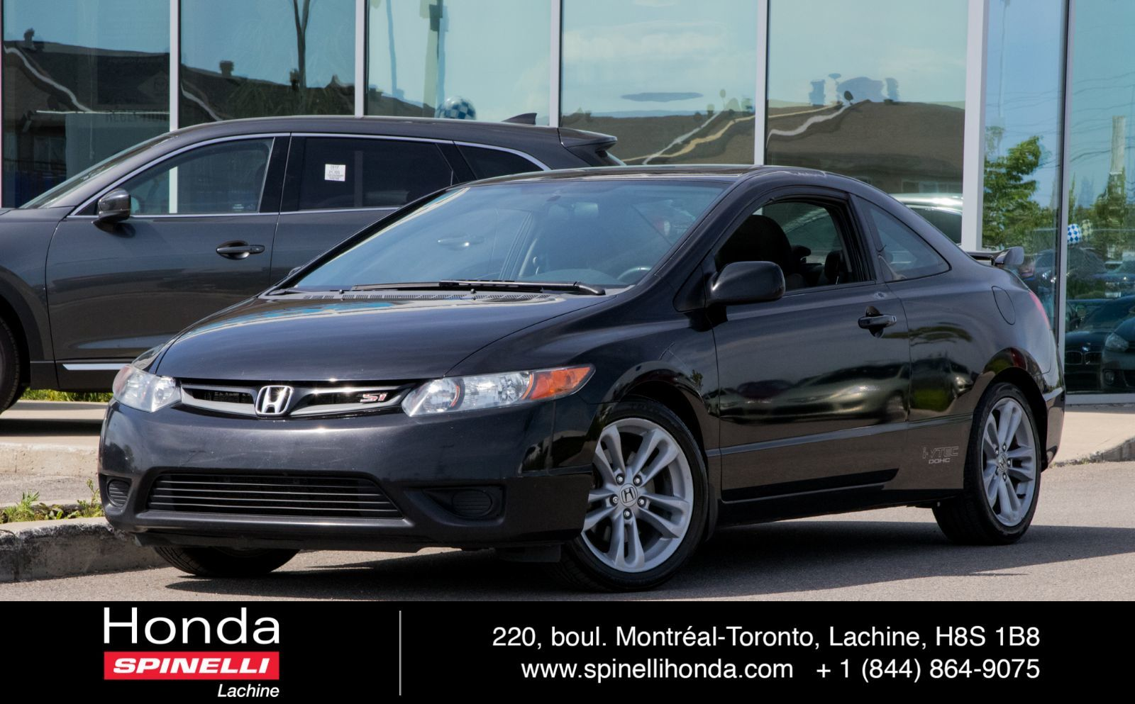 hight resolution of used 2007 honda civic si coupe for sale in montreal 97064 spinelli honda lachine