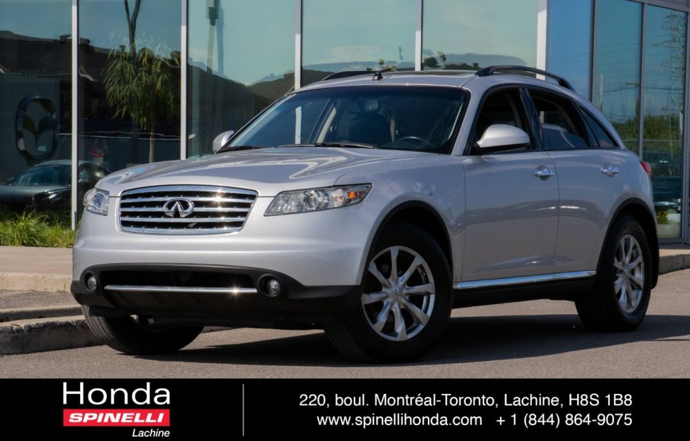 medium resolution of used 2007 infiniti fx35 awd cuir toit deal pending in montreal laval and south shore h180581a