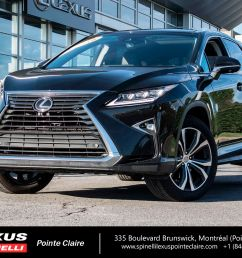 used 2016 lexus rx 350 executive package toit pano for sale in montreal p2134 spinelli lexus pointe claire [ 1600 x 1066 Pixel ]