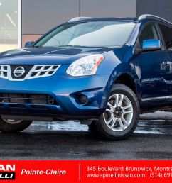 used 2011 nissan rogue sv awd for sale in montreal 171185a spinelli nissan [ 1600 x 1066 Pixel ]