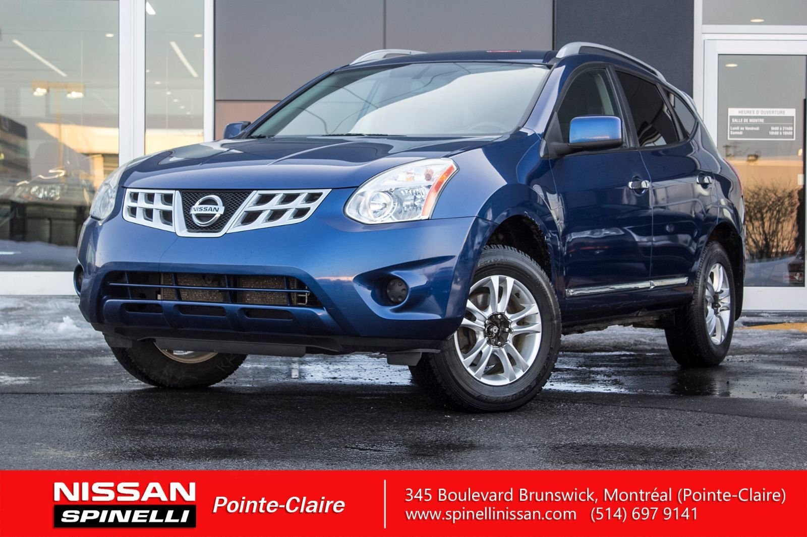 hight resolution of used 2011 nissan rogue sv awd for sale in montreal 171185a spinelli nissan