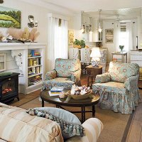 Ready for a change? Washable slipcovers in lighthearted ...