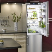 Ideas for a Small Kitchen: Liebherr refrigerator-freezer ...