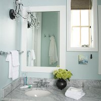 Guest Bathroom Decorating Ideas: Glam-Up - Comfortable ...