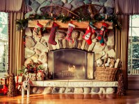 Cozy Knit Christmas Stockings - Southern Living