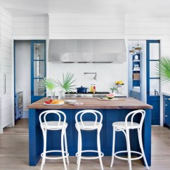 Beach House Kitchen Backsplash Ideas Reface Cabinets Inspiration Southern Living Blue And White