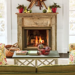 Living Room Mantel Decor Good Wall Colors 25 Cozy Ideas For Fireplace Mantels Southern Antique