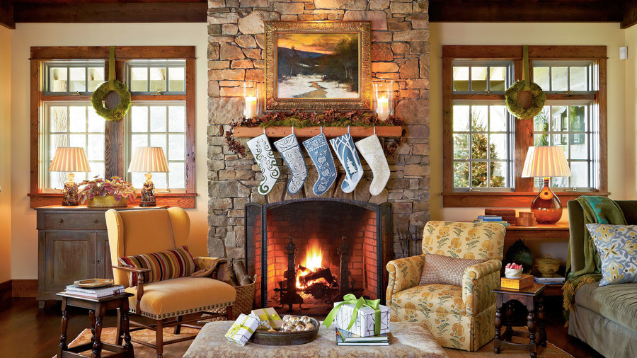 pictures of living room decorated for christmas modern ideas on a budget our favorite rooms southern cabin