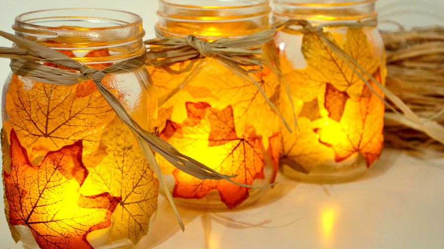 19 Ways To Decorate With Leaves This Fall Southern Living