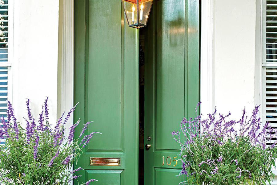 Green to Envy  Stylish Looks for Front Entry Doors