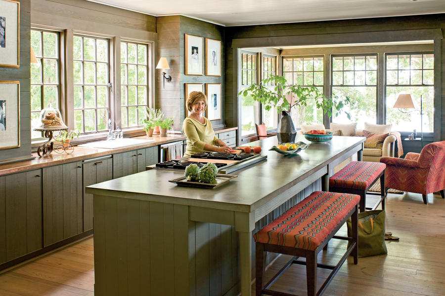 Make It Feel Rustic Lake House Decorating Ideas Southern Living