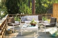 Correlating Deck Furniture - White Painted Home Decor ...