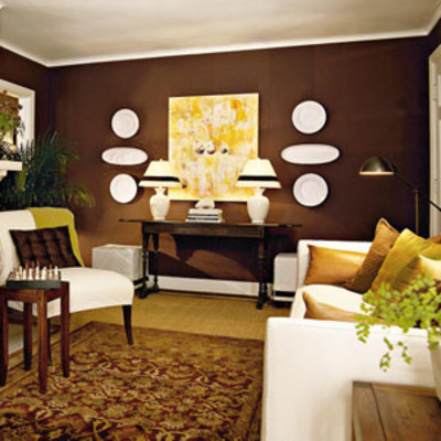 Chocolate Brown Living Room Ideas Affordable And Part 74