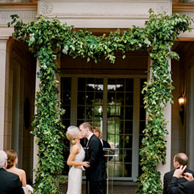 Natural Greenery Arch Beautiful Wedding Arches