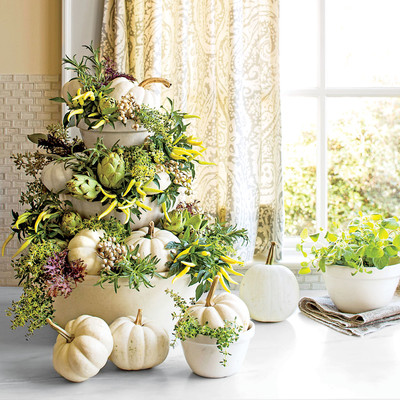 Create A Topiary Easy Pumpkin Decorating Ideas