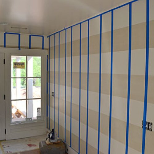 Teen Bedroom Diagram How To Paint Gingham Walls Southern Living