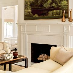 Living Room Mantel Decor Indian Style Small 25 Cozy Ideas For Fireplace Mantels Southern