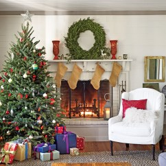 Images Of Christmas Living Room Decorations Rooms With Tv In Corner Design Decor Ideas Southern Our Favorite Decorated For