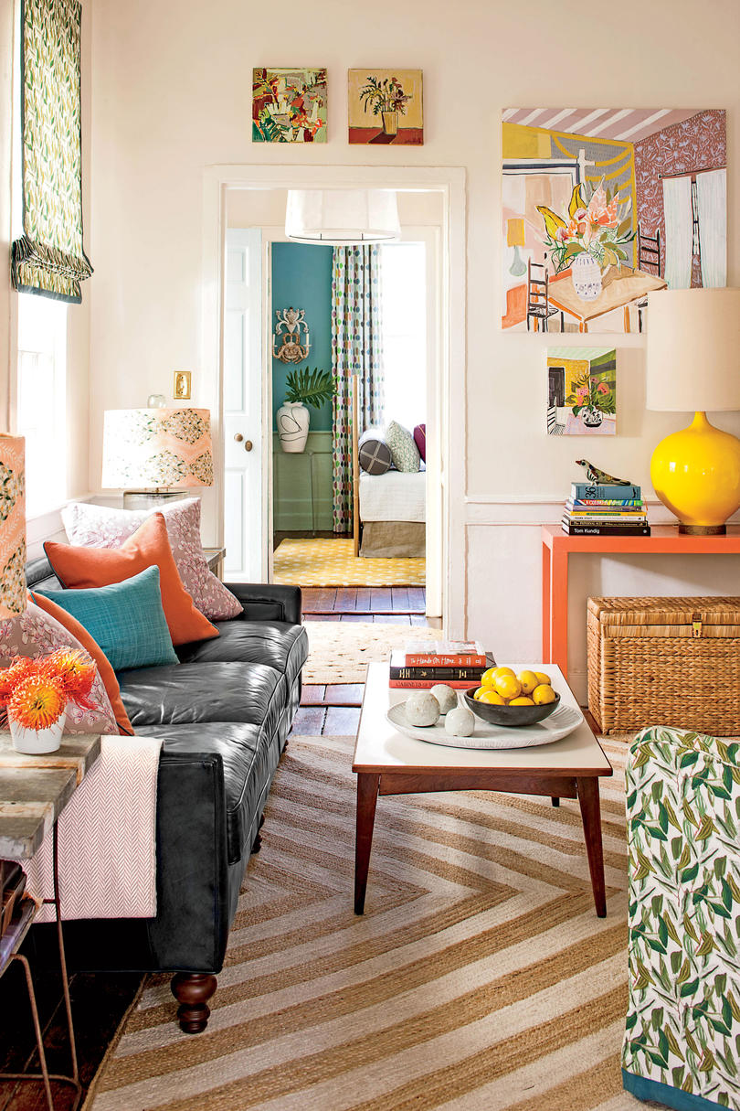 10 Colorful Ideas For Small House Design Southern Living