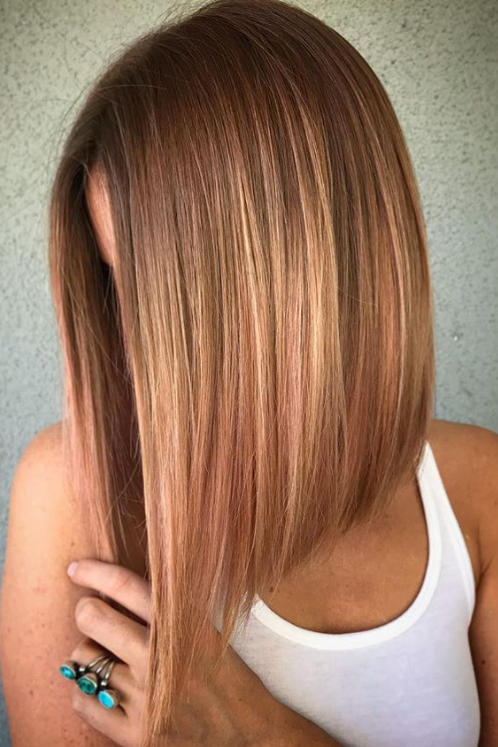 Long Angled Bob Haircuts That Prove Blunt Isnt Always Better  Southern Living