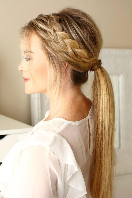 pretty ponytail hairstyles