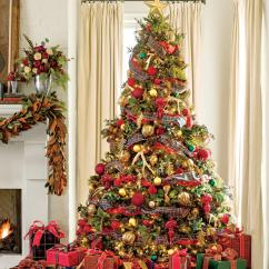 Luxury Christmas Chair Covers Tech Furniture 100 Fresh Decorating Ideas Southern Living Pile On The Plaid Tree