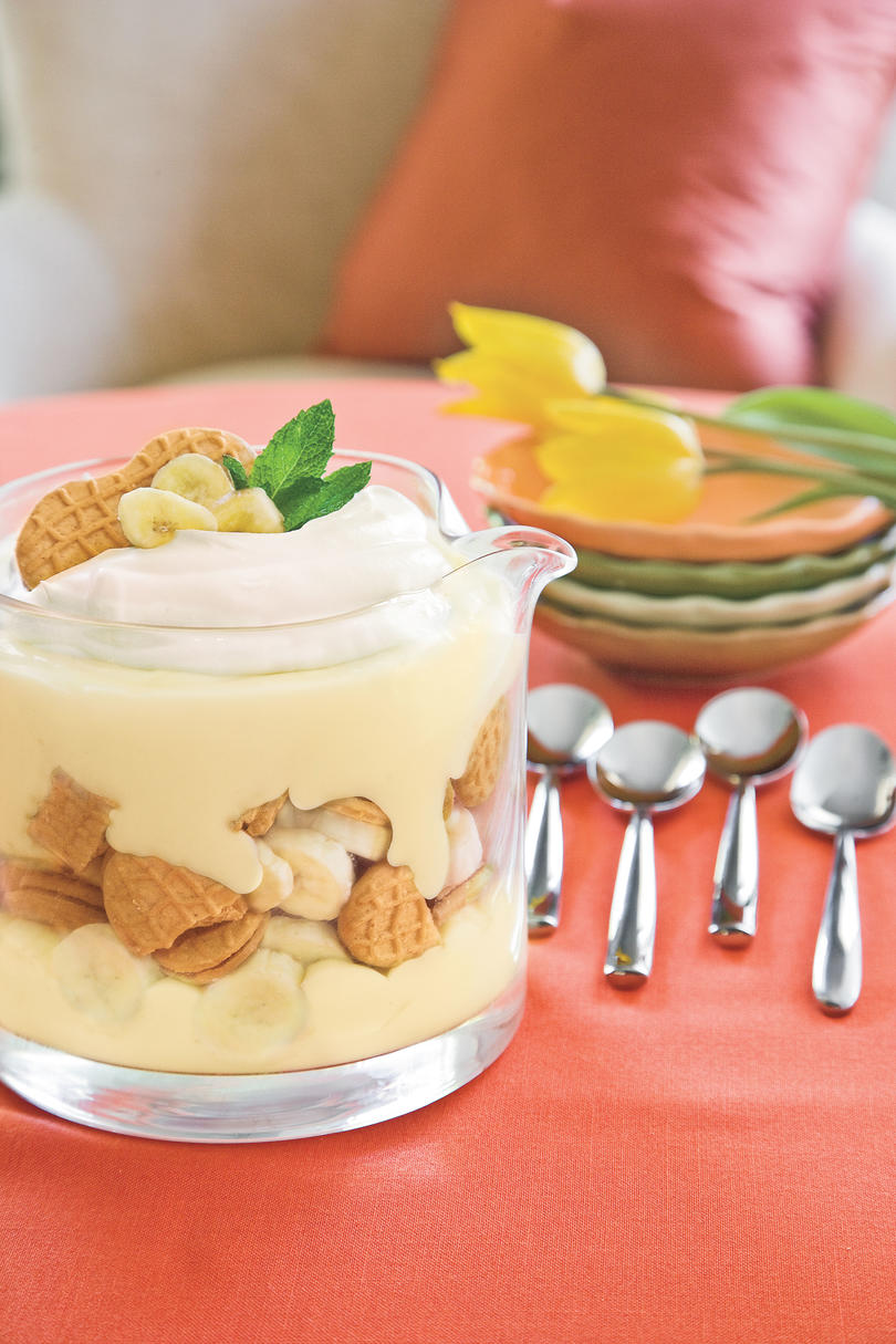 Using Recipes Pineapple Coconut Trifle