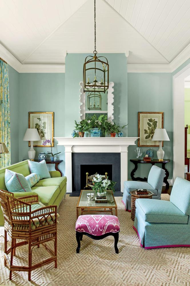Brilliant Southern Living Family Rooms Similiar Room Decorating Keywords