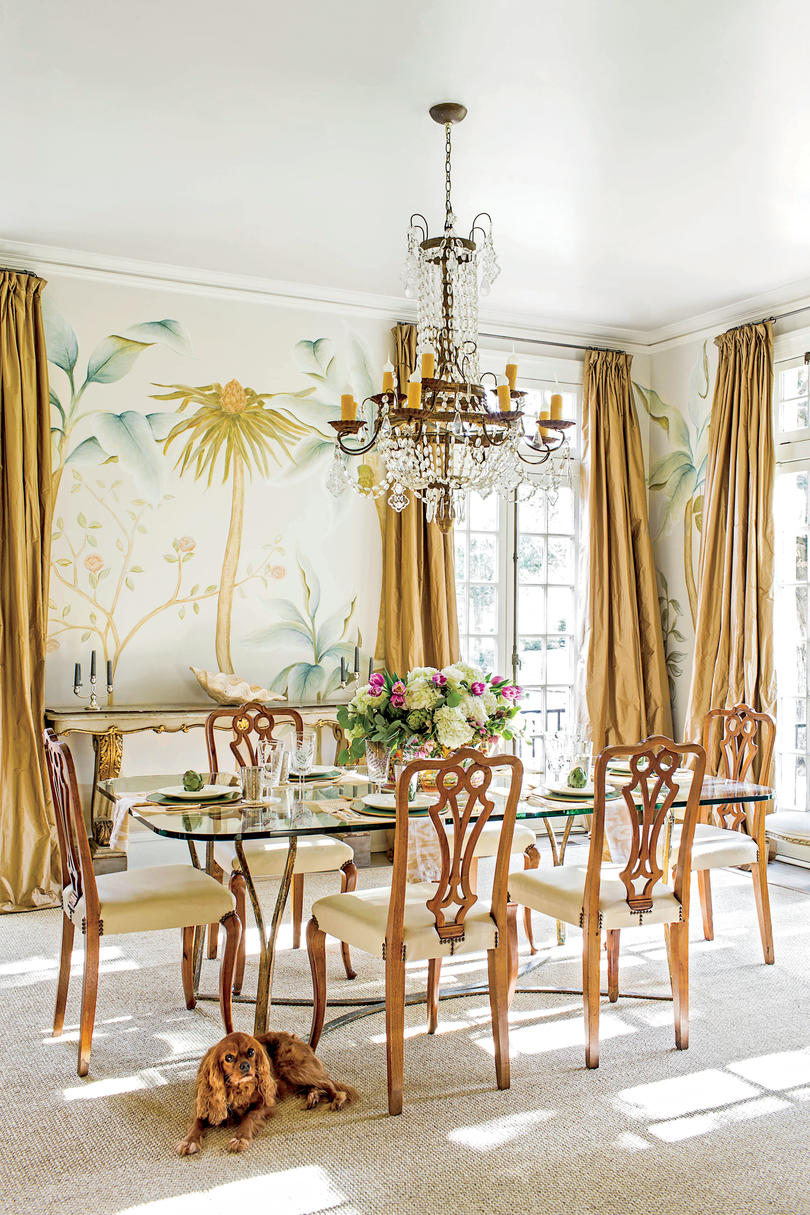 New Orleans Style Dining Room Decor