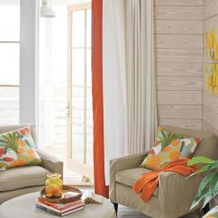 Orange Living Room Designs Grey And White Curtains 106 Decorating Ideas Southern Create A Conversation Corner