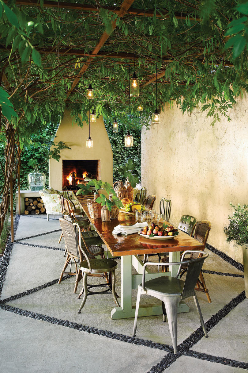 Southern Living Outdoor Patio Ideas