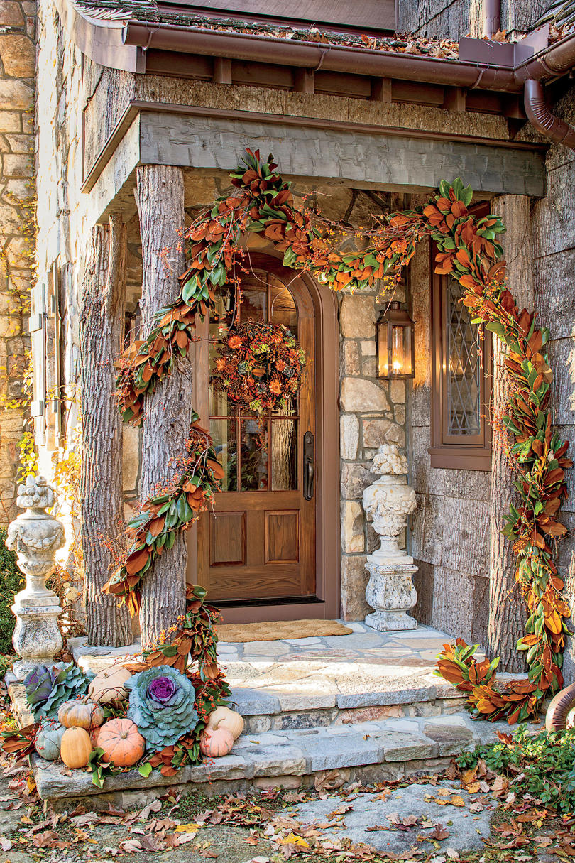 Outdoor Decorations Fall - Southern Living