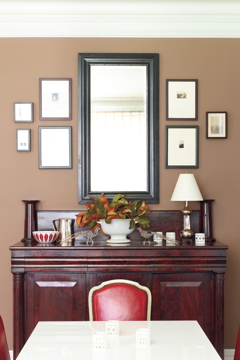 Decorating a Dining Room Buffet  Southern Living