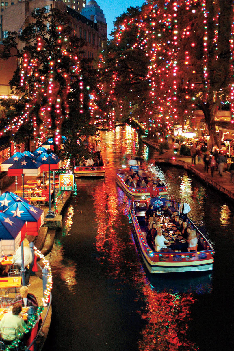 Riverwalk Christmas San Antonio