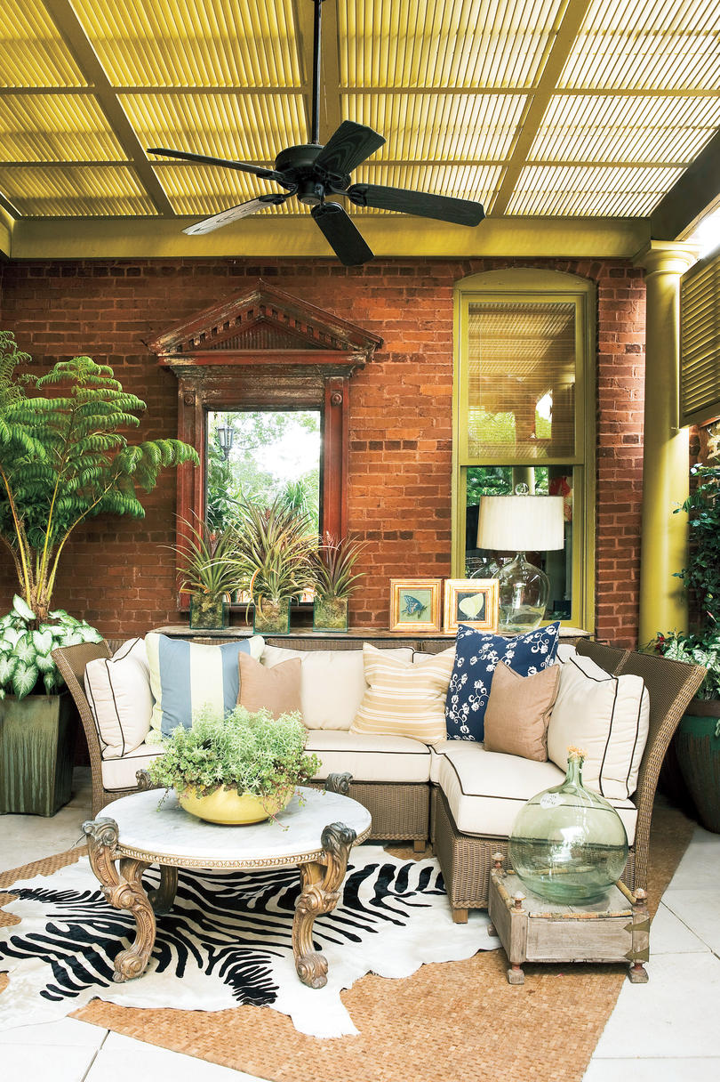 Southern Living Front Porch Decorating Ideas