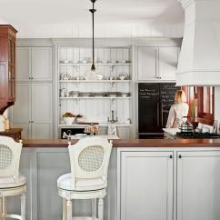 White Kitchen Floor Counter Height Tables All Time Favorite Kitchens Southern Living And Gray
