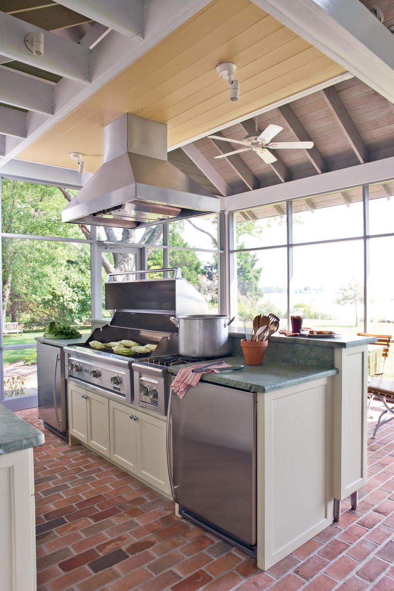 outdoor kitchen exhaust hoods how to clean silgranit sinks ultimate designed stay cool