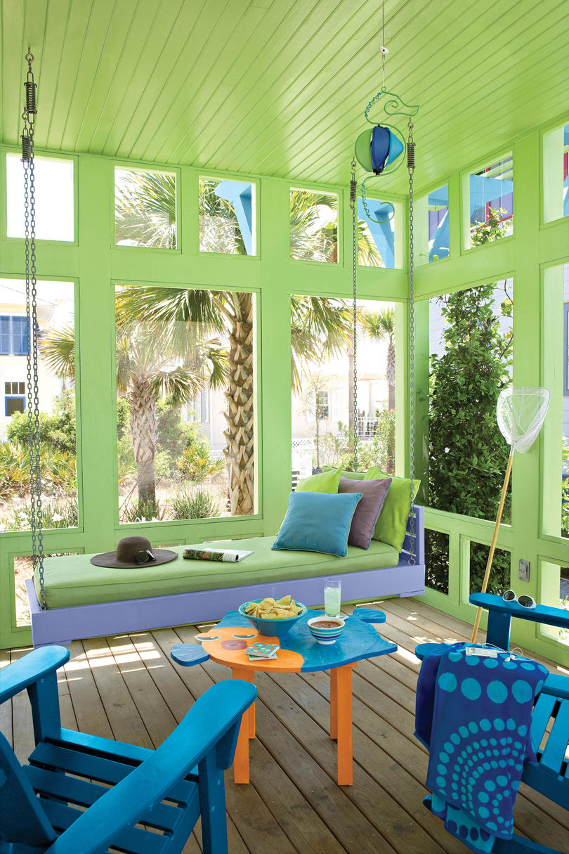 Beach Decorating Ideas Outdoor Spaces - Southern Living